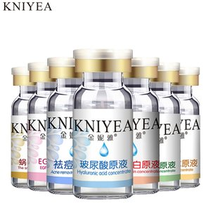 Stock solution Snail Extract supplement moisture Repair pore bulkiness Smooth and clean Oil-control Soften cuticle serum