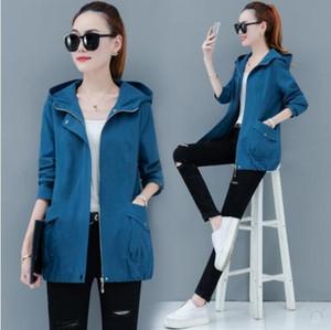 одежда Корейский стиль короткий малого пальто женщин среднего возраста LARG пальто ZuW8I Сыпучие хлопка весной и осенью Mom Put MOM PUT матери Новой мамы
