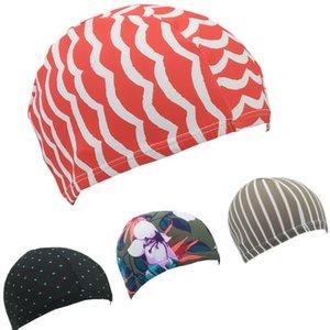 Печать Нейлон Swim Cap Замятие Внутри душ Hat Водонепроницаемые и масло Proof Headgear Специального Для плавательного бассейна Ванной для взрослых 0 9dm B2