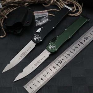 자동 칼 마이크로텍 야외 칼 150-10 HALO V 6 ELmaterial 알루미늄 합금 핸들 전술 캠핑 멀티 기능 나이프