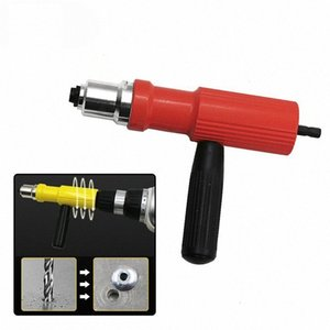 Elektro-Pull Nietmutter Conversion Tool Insert Riveting Adapter Gun Set Power Akku-Bohrschrauber Handnietzange Nail Zubehör 1L4m #