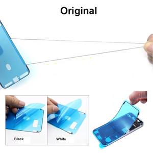 iPhone 6S 6SP 7 7P 8 8P XR X XS XSMax LCD Ekran Çerçevesi Yapışkan Tutkal Bant Ücretsiz DHL için Adedi 10pcs Her Renk Orijinal Su geçirmez Sticker