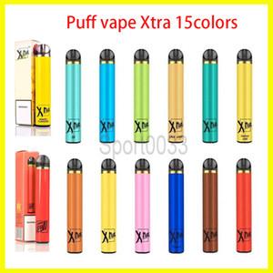 퍼프 vape 엑스트라, 처분 할 수있는 엑스트라 전자 담배 장치 포드 키트 1500 퍼프 미리 채워진 5.0 ㎖ 카트리지 배터리 Vape 펜 바 에어 플러스 비우기