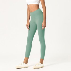 Брюки женские брюки Спортивный зал Wear Леггинсы Упругие Фитнес Lady Полный Полный Колготы тренировки Йога Размер XS-XL