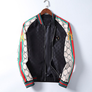 2020 homens quentes jaquetas Brasão de moda de Nova Jacket Com inverno Letters Windbreaker Zipper designer de casaco Autumn Hoodies finos para homens Sportwear
