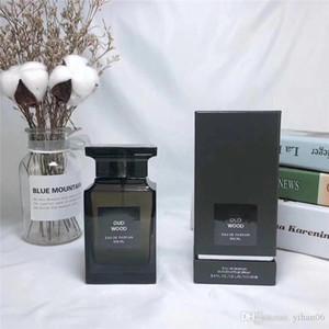 Новый Запечатанный Форд Бренди Perfume Oud Wood Eau De Парфюм 100мл Мужчинам Ароматы Супер пахнут Мужественный Cologne Spray Бесплатная доставка FS0595