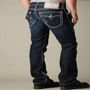 HOT Истинные дизайнерские джинсы мужских Проблемное Ripped Узких Брюки роскошных одежд Тонкого мотоциклов Moto Hip Hop Джинсовый люди RELIGIONING штаны