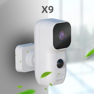 X9 Waterproof Wifi Wireless Security Camera 1080P Rechargeable Low Power PIR Dual Protection Surveillance Cameras