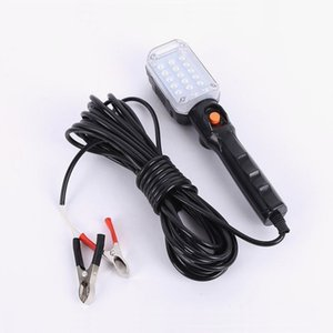 Bright Wired LED Floodlight Portable Handheld Work Light Magnetic Worklight For Garage Camping