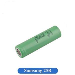 100% auténtico original INR18650 25R M de batería 2500mAh 20A de descarga Flat Top Vape litio 18650 para Samsung Box Mods