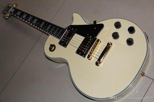 Оптовая GPCustom Randy Rhoads Electric Guitar Mahogany Cody / Hee / Ebony Gameboard / Fretside Привязка в сливке 20615