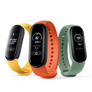 "Xiaomi Mi Band 5 Smart Bracelet 1.1"" AMOLED Screen 24h heart rate Sleep Monitor MiBand 5 Basic & NFC 2 Version"