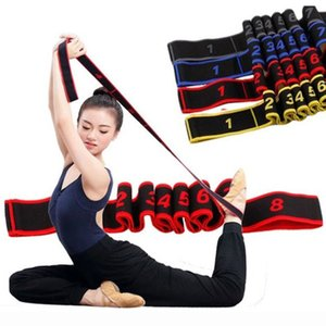 2020 New Elastic Resistance Band Pull Strap Sports Yoga Fitness Exercise Women Man Latin Dance Body Building Stretch Belt