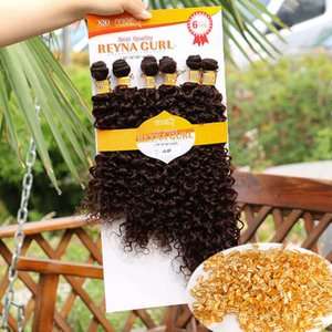 factory african american Micro weaves high quality 18inch afro curly perruques tressées synthetic braids extensions 2020 Xpression Braiding