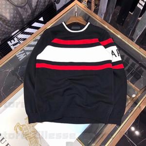 20ss diseñador para mujer para hombre del suéter LUXE Hombres sudadera con capucha de manga larga activa del bordado de géneros de punto ropa de invierno 2020