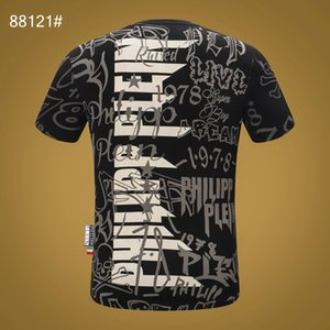 Philips Normal Herren Designer-T-Shirts Neue Luxus-Marken-Designer-Mode mit kurzen Ärmeln PP Bohrer Schädelkopf Casual Tops chuan04