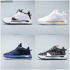 Paul George PG 4 Çocuk Basket Ayakkabısı Spor ayakkabı Gatorade NASA Fermuar Yakınlaştırma Erkekler Purple 4s Spor Varış Ucuz Eğitmenler Ayakkabı x
