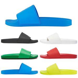 New pool slides men women slippers shoes casual outdoor flat platform sandal slide slipper sandals mens womens trainers sneakers size 36-45