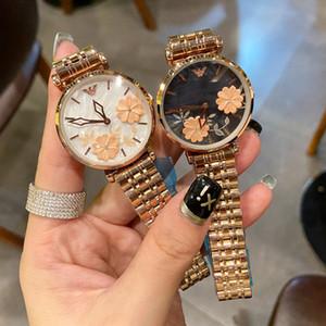 La nueva manera de las mujeres de oro rosa relojes del reloj de plata óptima señora Dress regalo cuarzo de las mujeres ocasional simple Reloj Reloj mujer Marcas