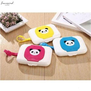 Portable Clean Tissue Paper Storage Holder Care Dry Wet Tissue Paper Box Plastic Case Baby Wipes Napkin Bag Wipes Container