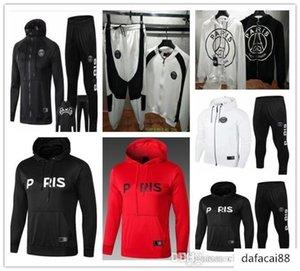Paris hoodie jacket kit 2019 fine tracksuit football jacket MBAPPE Tracksuit Champion Paris Hoodie sportswe