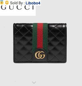 Libobo4 536453 Leather Card Package Wallet Chain Wallets Purse Shoulder Bags Crossbody Bag Belt Bags Mini Bags