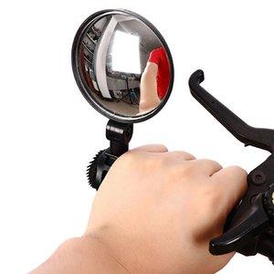 MTB Mountain Road Bike hinten Spiegel 360 Grad Drehung Fahrradlenkerhalterung Rundrückspiegel Sicherheit einen.Kreislauf.durchmachenausrüstung