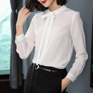 Seconds 179 special offer zone no refund no change fashion solid color shirt real silk blouse shirt P7918