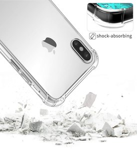 Anti Drop Transparent Hard Acrylic Case for iPhone XS 11 Pro Max XR 6 7 8 Plus SE 2020 5G Samsung S20 Note 10 A21 Huawei Moto LG Xiaomi