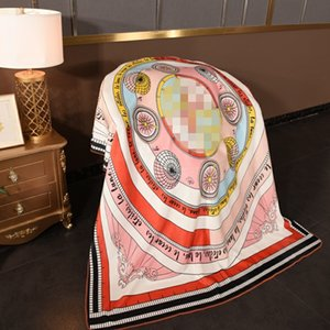 Luxury T Letter Velvet Blankets Fashion Printing Woolen Blankets Tide Womens 3 Size Blanket Classic American Style