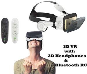 Große FOV VR-Headset mit Kopfhörer 3D-Virtual-Reality-Brille für Iphone X Sony Lenove Huawei 3D Video Movie Game Brille