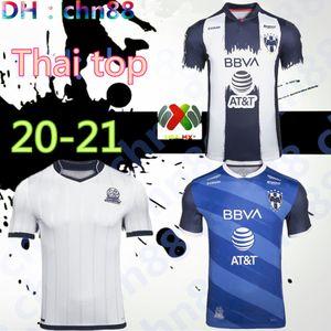 le club mexicain de Monterrey Rayados 2020 2021 maison loin du 75e anniversaire maillot de football de football chemises de qualité supérieure Thaïlande