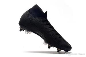 Новый мужской Mercurial Superfly 7 Elite SG-PRO AC Ronaldo FG CR футбольные бутсы 360 Chaussures бутсы высокой лодыжка Футбол Бутсы eur39-45