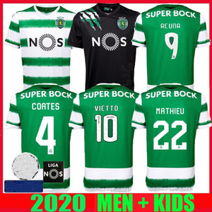 Sporting CP 20 21 Lisboa fútbol jerseys Vietto COATES ACUNA hogar lejos 2,020 2,021 Sporting de camiseta de fútbol maillot de pie Tailandia