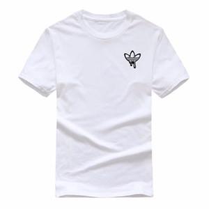 Мужской одежда лето мужской дизайнер футболка мода женщины футболка прохладно с короткими рукавами вокруг шеи шеи тройника Hommes мужчины женщины дизайнер тенниска