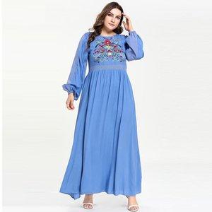 Abaya Kaftan Dubai Arabe Kaftan Müslüman Hicap Elbise abayas Kadınlar Elbise Ramazan Eid İslam Giyim Robe Femme musulmane Longue