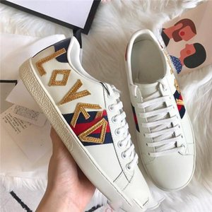 2020 luxury designer mens shoes fashion luxury designer women casual Couple with the same casual shoes flat bottom shoes