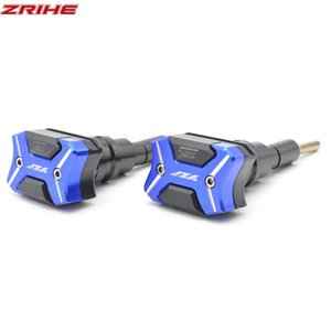With YZF Motorcycle cnc aluminum frame Crash Pads Engine Case Sliders Protector For YZF R3 2013-2015