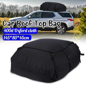 145x80x45cm Universal Car Roof Top Bag Roof Top Bag rack de carga do portador de bagagem de viagem de armazenamento impermeável SUV Van para carros