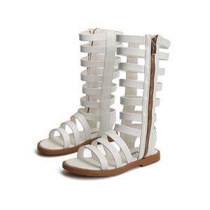New Beach Summer Child Sandals Roman Boots High-top Girls Sandals Kids Gladiator Sandals Hot Sale Toddler Girls Shoes