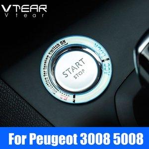 Per Peugeot 3008 3008GT 5008 2020 2020 automobile Start Stop ghiera luminosa cornice decorativa sticker Illuminate Accessori