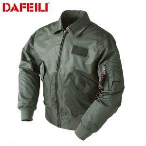 DAFEILI estadounidense CWU-45P chaqueta del traje uniforme de béisbol del piloto ins juego de béisbol de la fuerza aérea marca Tide otoño del todo-fósforo capa de los hombres