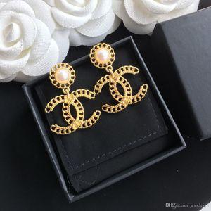 حار بيع بسيطة إلكتروني سلسلة الرياح مصمم الأزياء الأقراط الجديدة الفاخرة مصمم المجوهرات النساء الأقراط