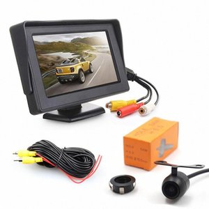 Yiwa 후면보기 주차 카메라 - 4.3 인치 LCD 디스플레이 트럭에 대한 IP68 방수 CMOS 센서 130도 렌즈, 자동차 rDsK 번호
