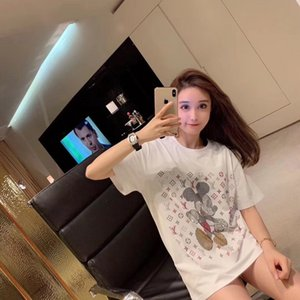 2019 Luxu women France High Quality Vetements Cartoon Tshirt Fashion Mens Designer T Shirts Women Clothes Casual Cotton Tee Top