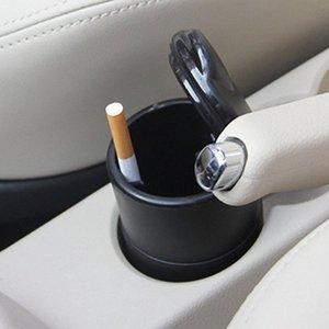 Faible coût vente voiture créatif petit cendrier ignifuge haute flamme PBT avec lampe de couverture voiture intérieur produits cendrier gros 1cUJ #