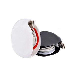Cable Organizer automatico Winder per cavo delle cuffie auricolari In Ear dati cavo di carico del cavo della tastiera DHL