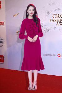 710 XL 2020 Free Shipping Brand Same Style Dress Crew Neck Womens Clothes Mermaid Flora Print Luxury Fashion Dress AS