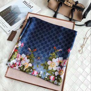 NEW Luxury Designer Small Square Schal aus 100% Echt Seidenschal Kopftücher GUCCI Hijab Stirnband Bandana Halstuch Nackenwärmer HOT