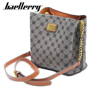 bayan bağbozumu haberci çantası deri çanta Lüks için Baellerry Woemn omuz çantaları yüksek kaliteli tasarımcı crossbody çantaları